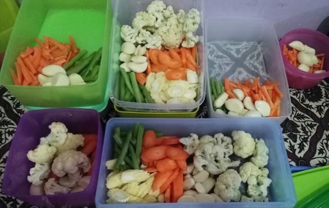 cara menyimpan bahan makanan di lemari es