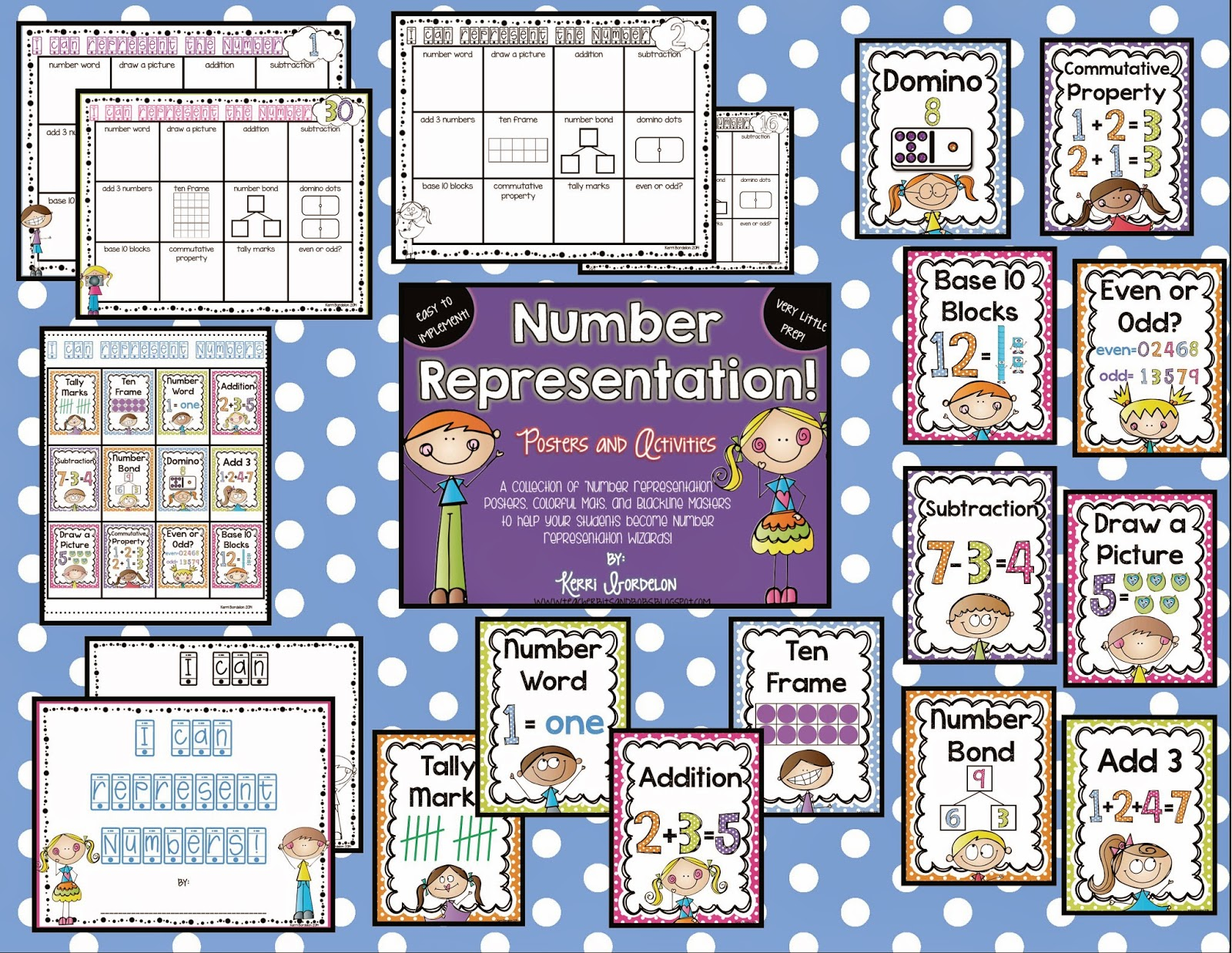 Teacher Bits And Bobs Number Representation Baby
