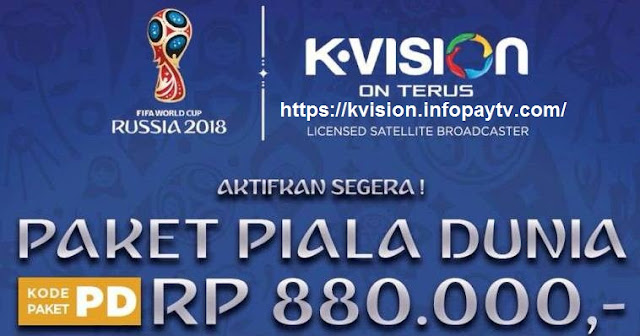 K Vision Promo Piala Dunia 2018 Gratis Paket All Channel