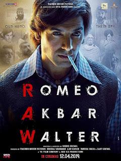Romeo Akbar Walter First Look Poster  3