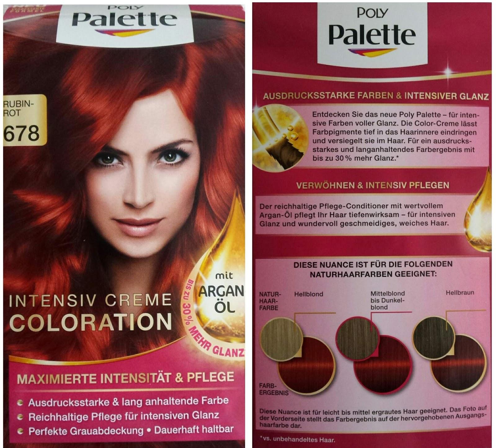Haarfarbe im lidl