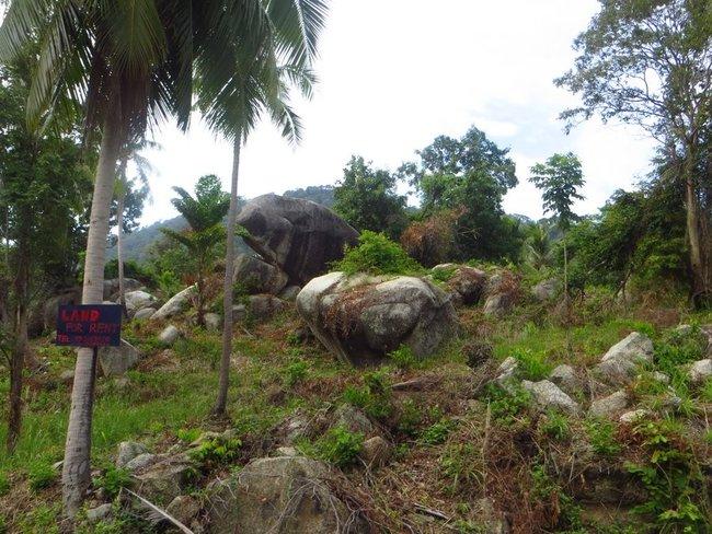 Каменистая дорога остров Панган