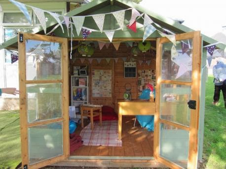 Shedworking Sully Primary School S Dylan Thomas Inspired