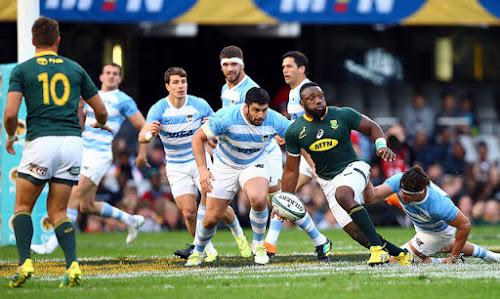 Los Pumas cayeron en el debut ante Sudáfrica #PersonalRugbyChampionship