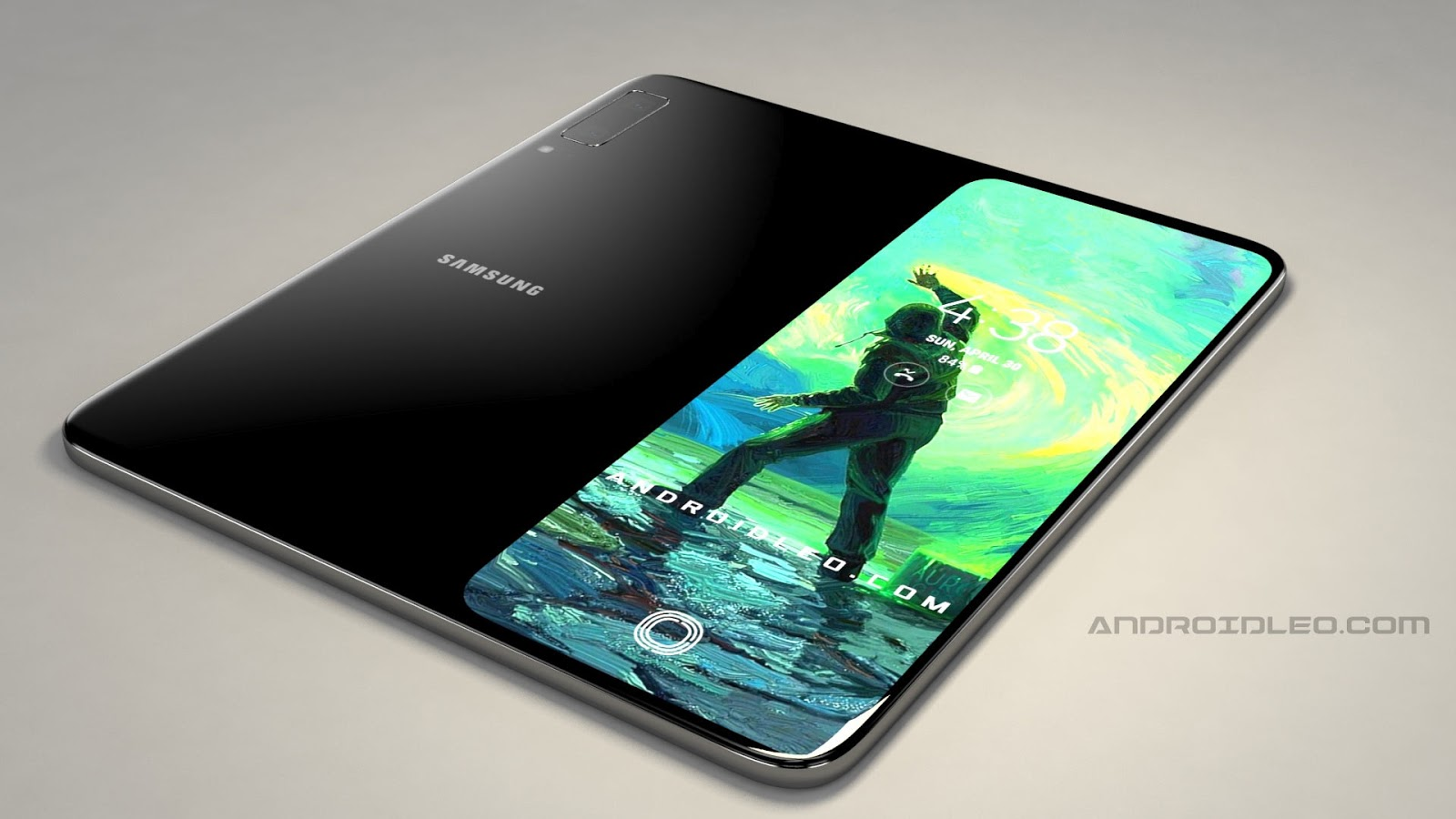 Samsung galaxy f foldable phone