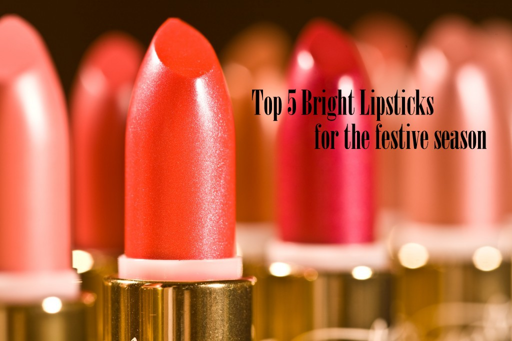 Top 5 bright color lipstick for the festive season, bright lipsticks in India, lipsticks for festive season, red lipsticks india, Mac Ruby Woo India, Indian beauty blogger