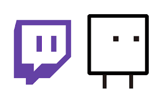 Twitch.tv logo Box Boy HAL videogame comparison character