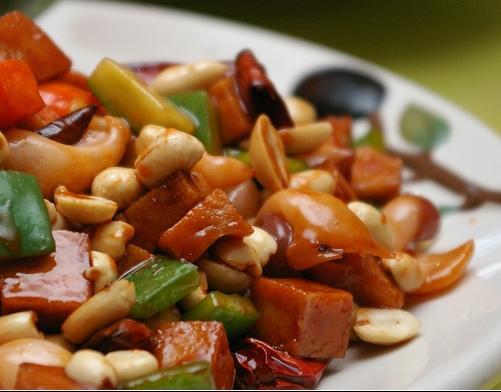 La cucina cinese pollo alla gong bao for Ricette cucina cinese