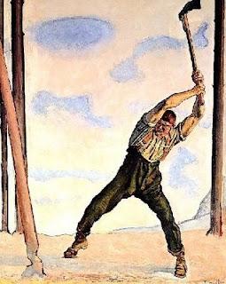 fabula el leñador y el bosque
