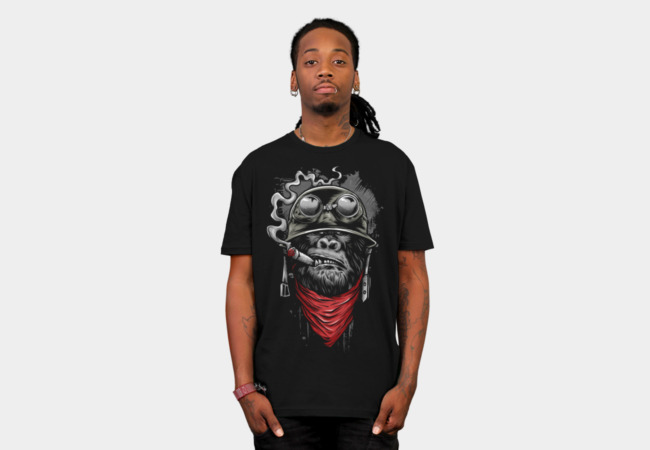http://www.designbyhumans.com/shop/t-shirt/men/ape-of-duty/123012/