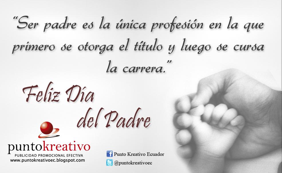 3a54681c3e98 Punto Kreativo Ecuador - Publicidad Promocional  ¡FELIZ DÍA DEL PADRE!