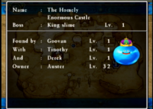 Dragon Quest VII Fragments of the Forgotten Past 3DS King Slime monster collection