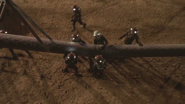 Pipeline accident - image from Season 2 of NatGeo MARS TV series