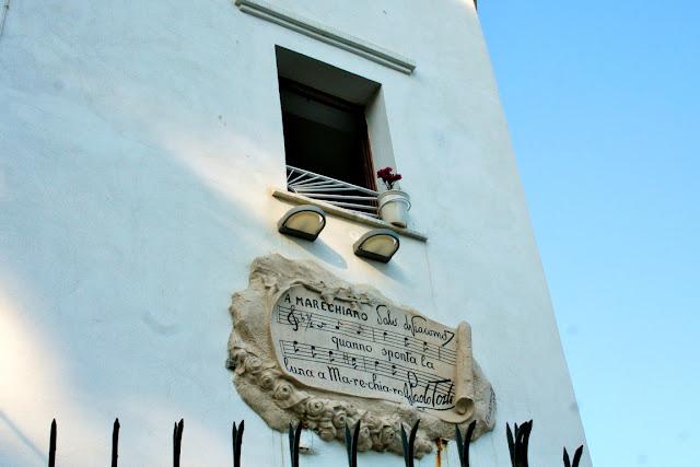 casa, finestra, lapide, finestrella Maechiaro, cielo
