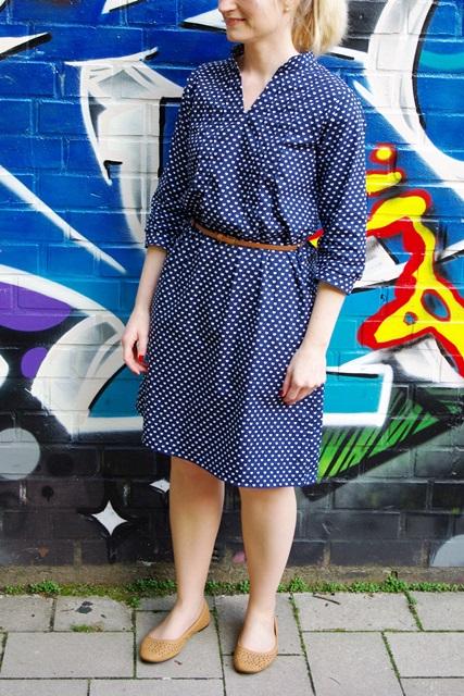 Finas Kleid Finas Ideen Kleid aus Webware nähen