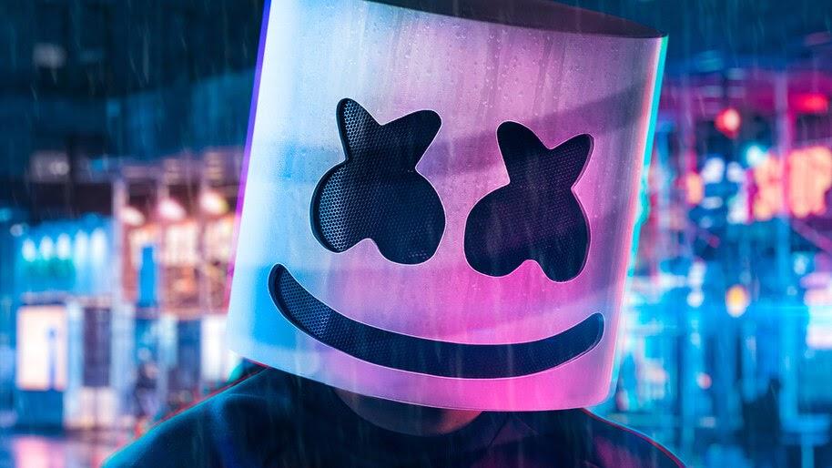 DJ, Marshmello, Mask, 4K, #4.3115