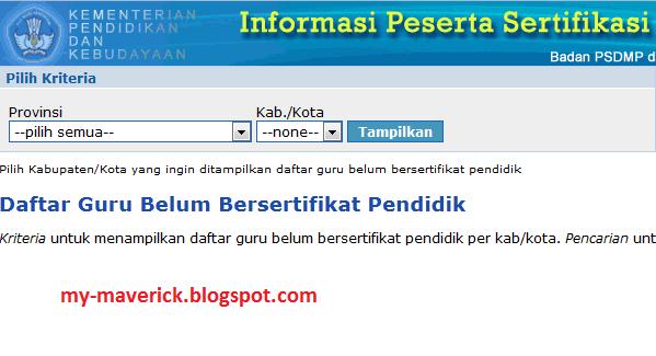 Info Calon Sertifikasi Depag 2013 Tangerang Daftar Calon Peserta Pelatihan Instruktur Nasional Guru Daftar Calon Peserta Sertifikasi Guru Kemenag Tahun 2013 Calon Peserta