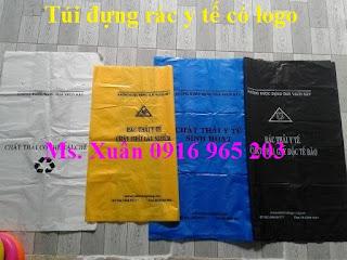 Bao nilon đựng rác thải y tế, túi rác y tế theo tt 58