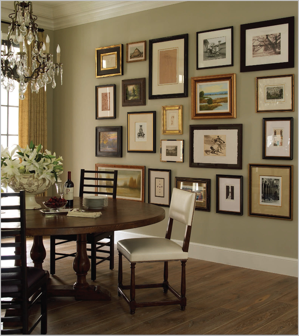 Wall Pictures For Dining Room: Creative Choices Interior(s): Not Just For The Stairs