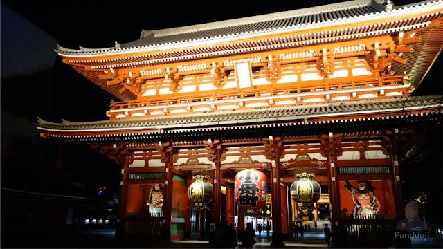 Hozomon Gate bagiann luar