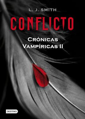 Reseña: Conflicto (Crónicas Vampíricas #2) de L. J. Smith