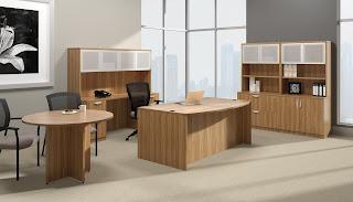 Fashionable Executive Office Interior