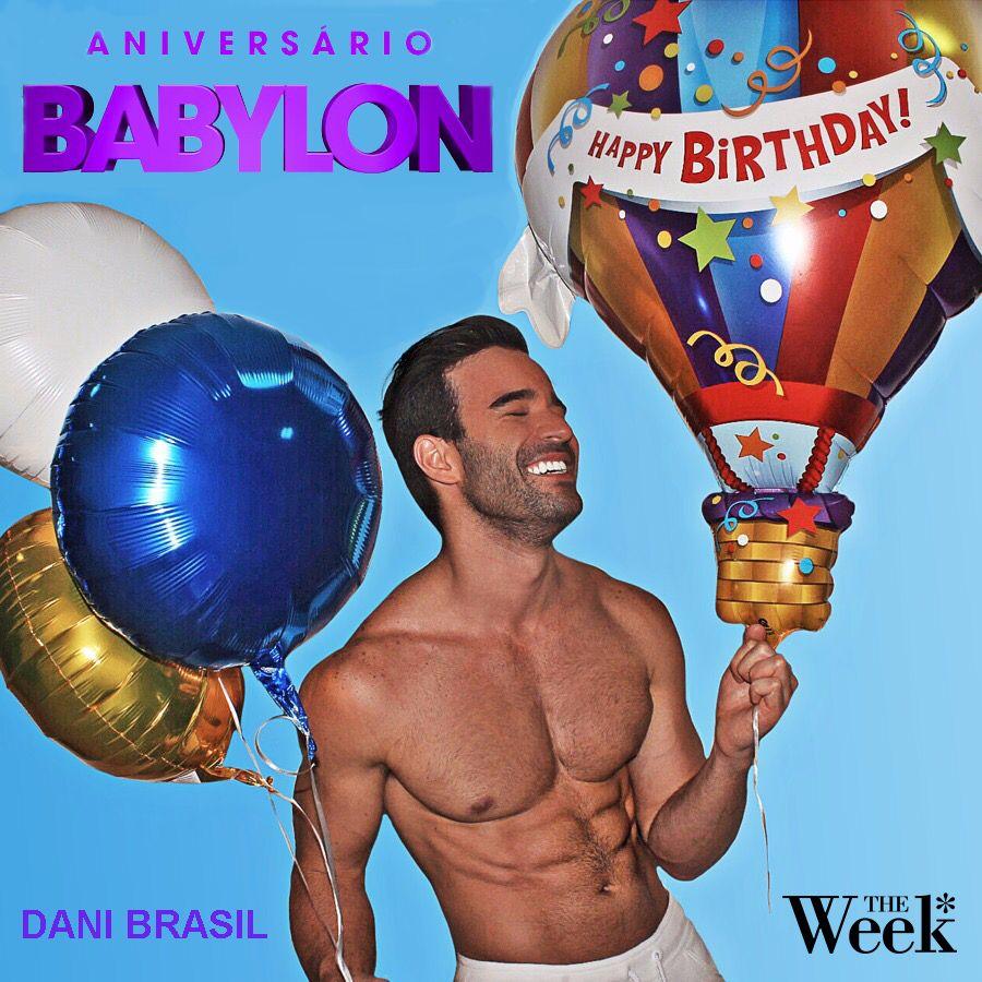 Dani Brasil - ANIVERSÁRIO BABYLON (The Week Brazil)