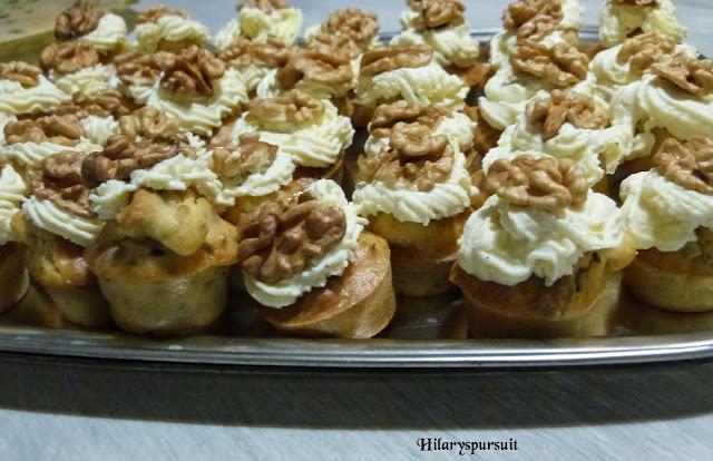 Cupcake aux noix et chèvre