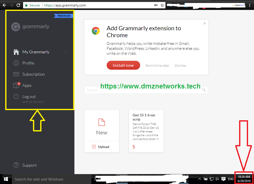 Grammarly Premium Username and Password Free 2018 - DMZ Networks