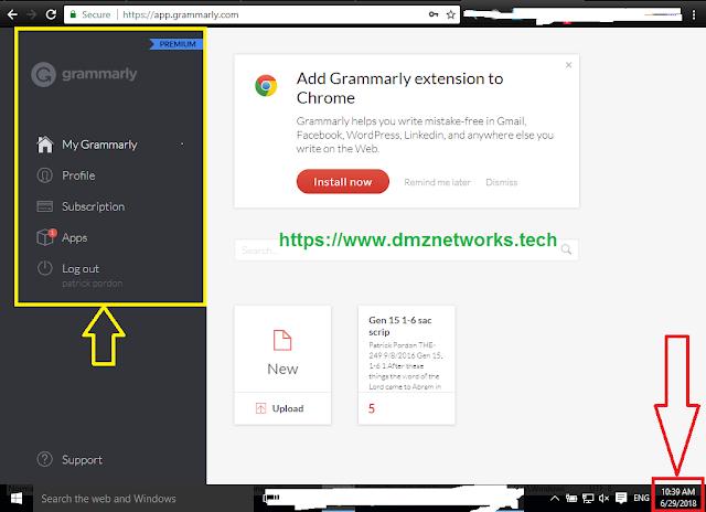 Grammarly Premium Username and Password Free 2018