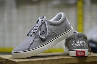 Sepatu Vans Suicidal Tendencies Waffle ICC Grey