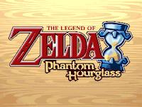 Captura de pantalla inicial de The Legend of Zelda: Phantom Hourglass (Nintendo DS, 2007)