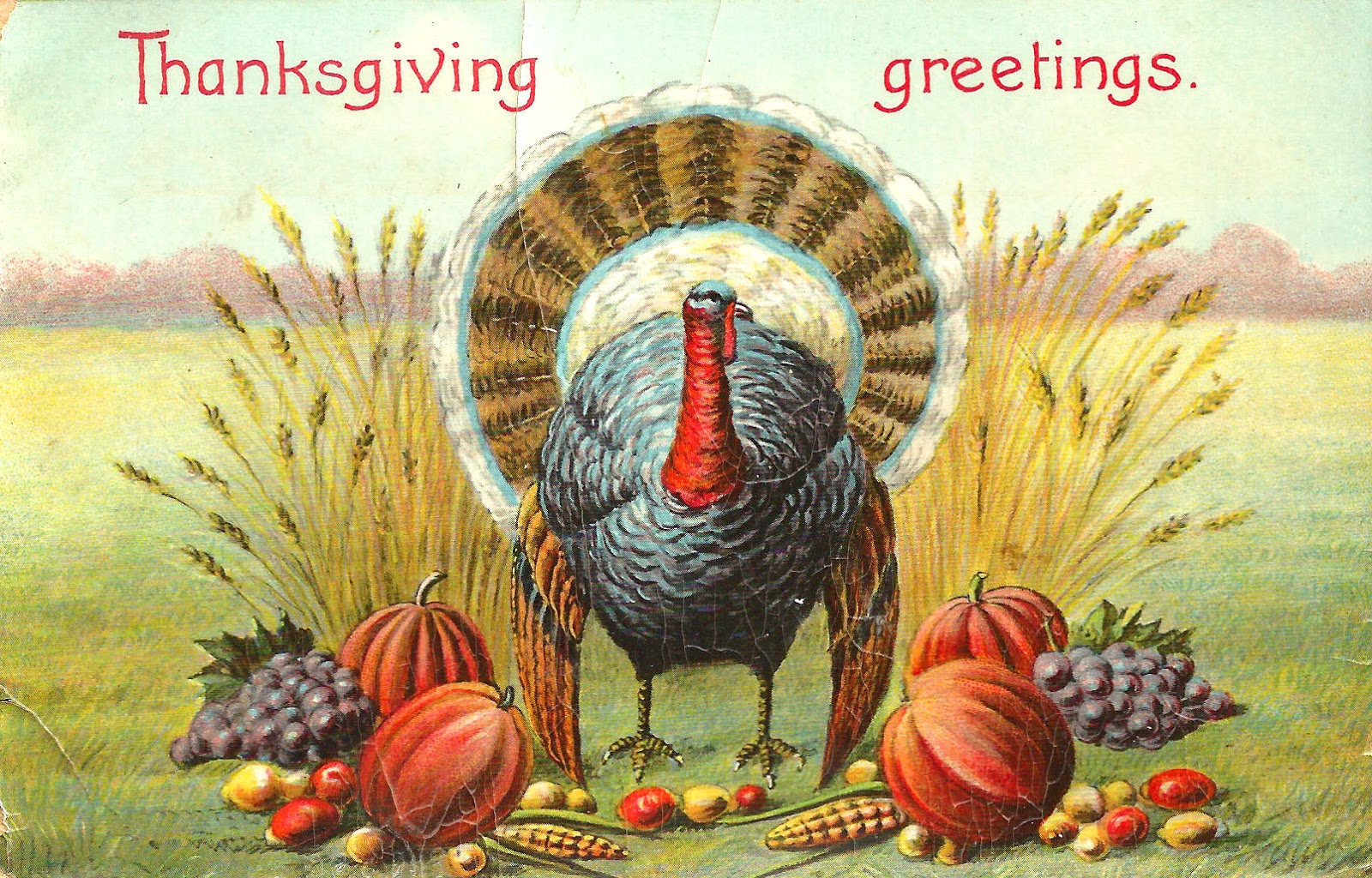 Antique Images: Free Vintage Thanksgiving Graphic: Vintage ...