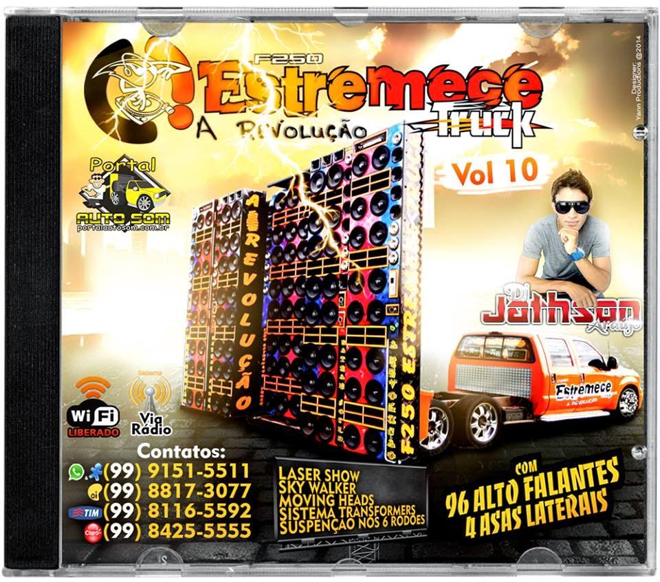 CD - F250 Estremece Truck Vol 10   Dj Jathson - F-250 Club