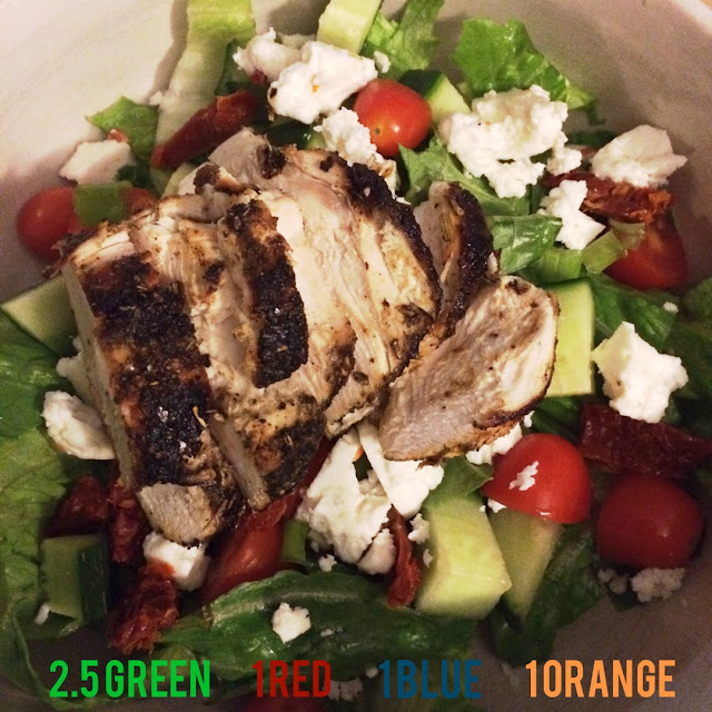 Greek Chicken salad - Hammer and Chisel meal plan
