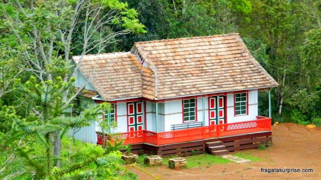 Casa de colonos ucranianos em União da Vitória, Paraná