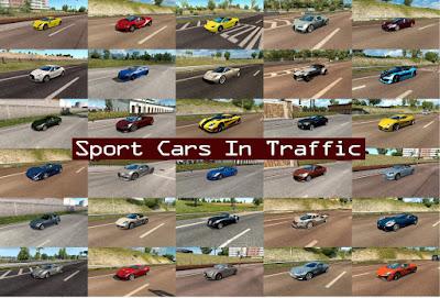 Sport Cars Traffic Pack by TrafficManiac v3.4