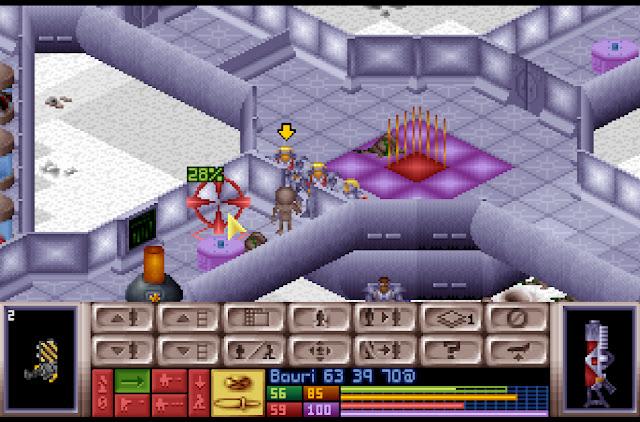 Open Xcom - Alien Ship Screenshot