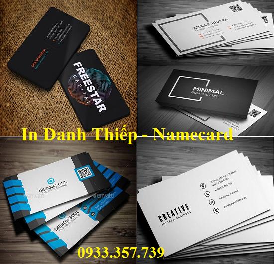 In name card Nhanh - Rẻ-Đẹp - Giá xưởng - 0933.357.739
