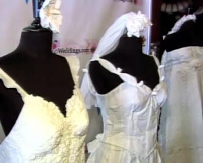 Toilet Roll Wedding Dress Unveiled
