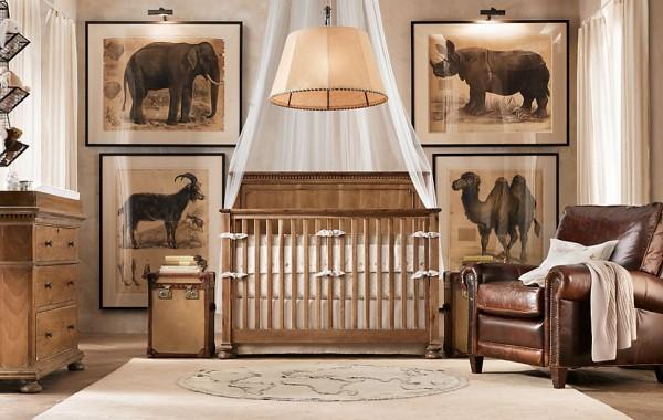Dormitorios de bebe estilo clasico tradicional by - Dormitorios infantiles clasicos ...