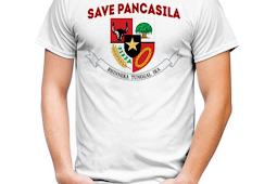 Design model kaos pemuda Pancasila yang keren terbaru 2019