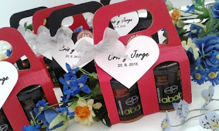 Mermelada el Ababol, detalles y regalos para bodas y comuniones