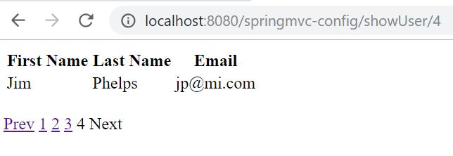 Spring MVC Pagination Example Using PagedListHolder | Tech Tutorials