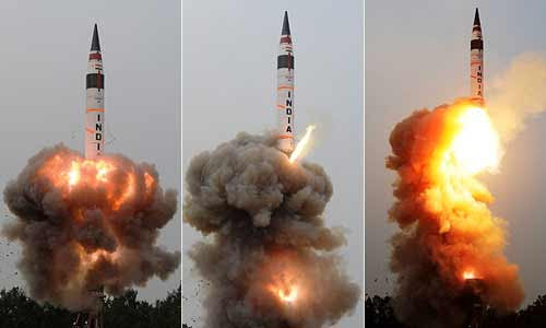 5 Missile Test in Two Months: India's Attempt to create Credible Minimum Deterrence in South Asia