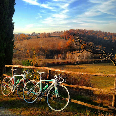 carbon road bike rental cycling in tuscany