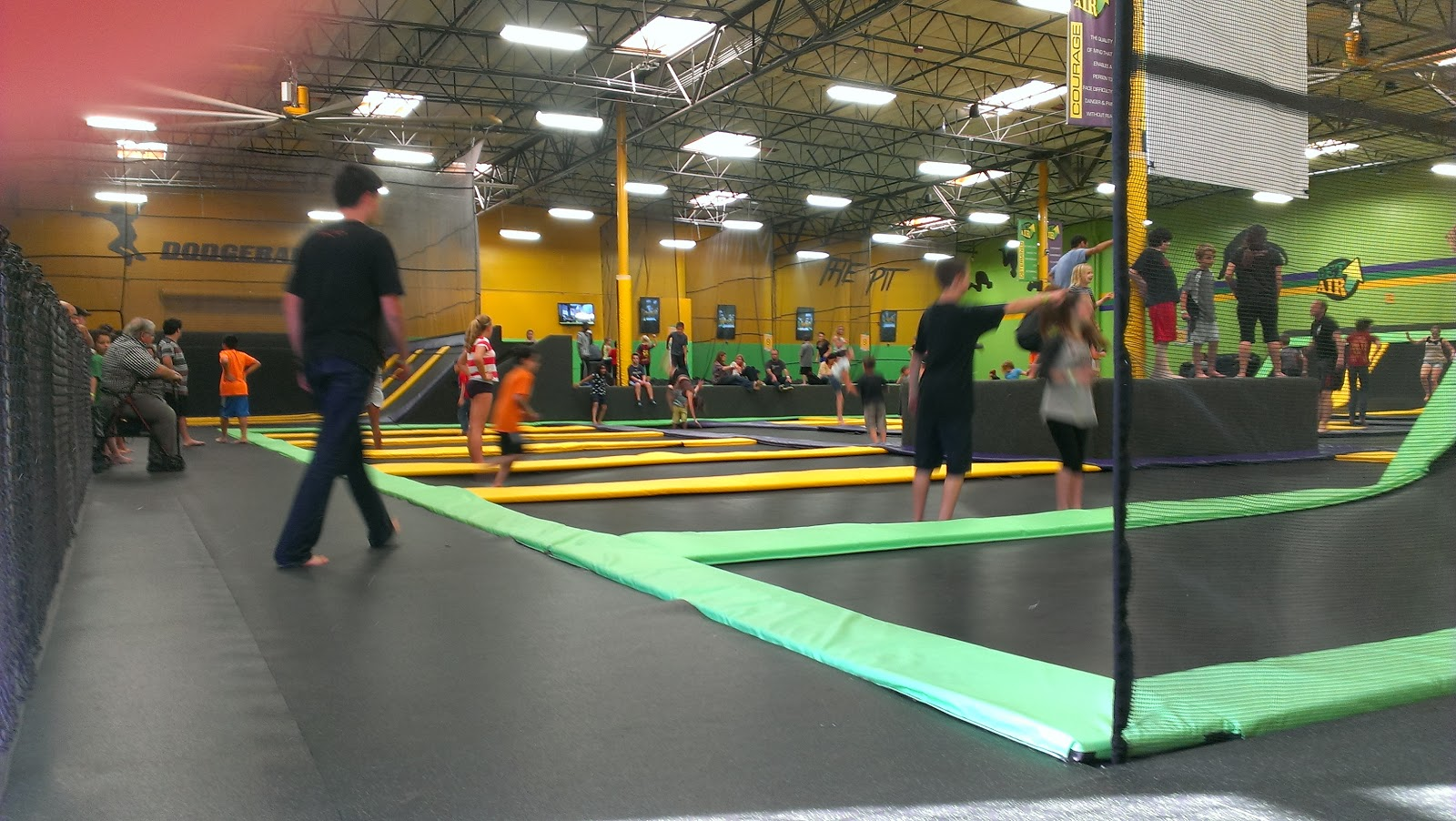 Jumping At Get Air Trampoline Park Phil S America