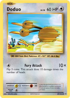 Doduo Evolutions Pokemon Card
