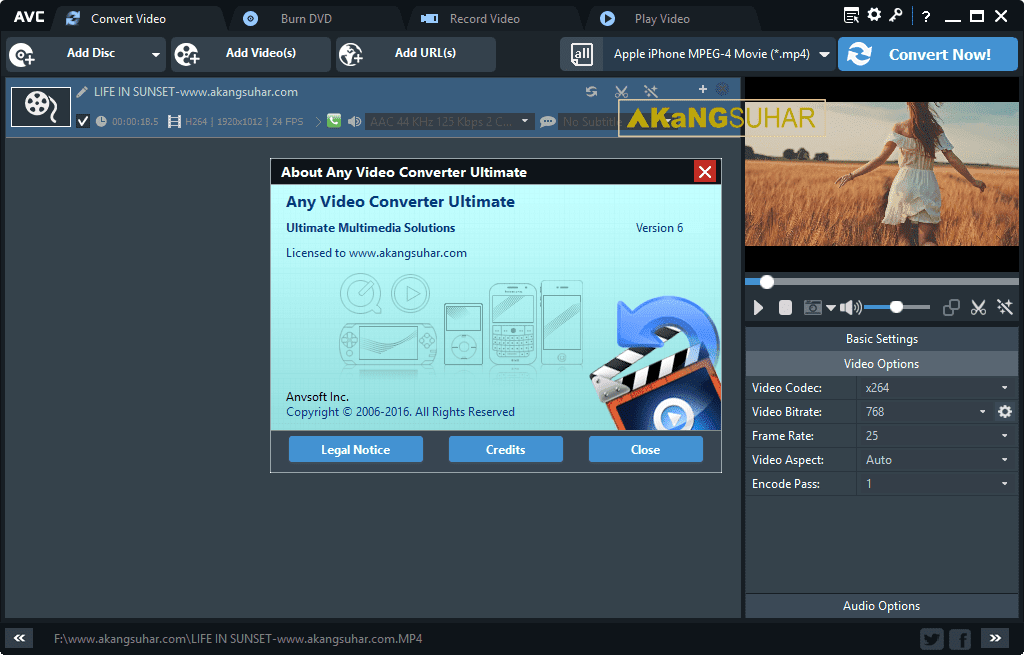 Download Any Video Converter Ultimate Final Latest Version, Any Video Converter Ultimate Offline Installer, Any Video Converter Ultimate Terbaru