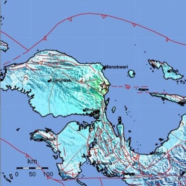 Warga Pesisir Cemaskan Tsunami Pasca Gempa Magnitudo 6,1 Guncang Manokwari, Jumat (28/12/2018)